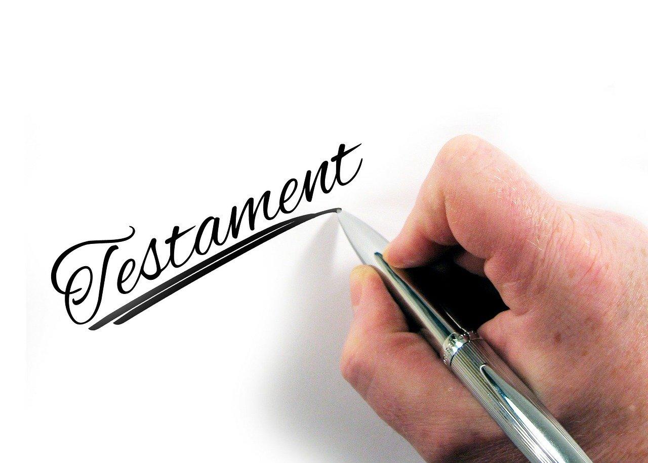 Comment rédiger un testament?