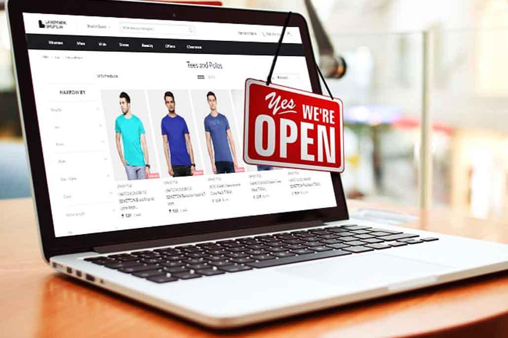 vente en ligne de vêtements